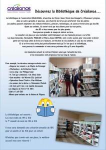 bibliothèque créaliance