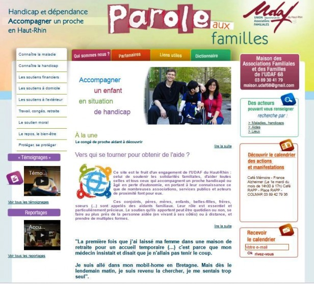 site paroles familles 68